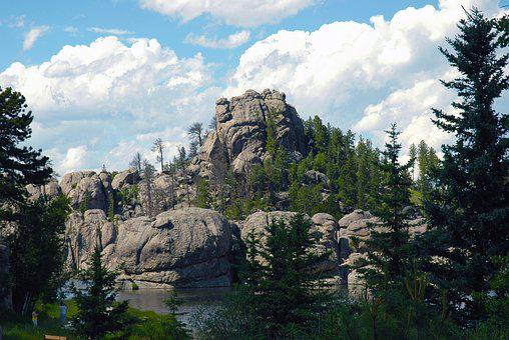 Lake, South Dakota, South, Dakota, Nature, Landscape