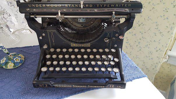 Old, Vintage Typewriter, Antique, Office, Journalist