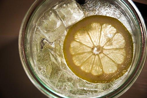 Lemon, Lemon Juice, Lemon-aid, Ice, Water, Juice