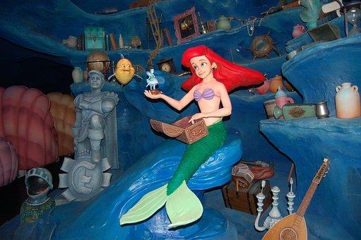 Little Mermaid, Ariel, Disney, Disney World