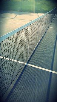Court, Net, Sport, Tennis, Tennis Court