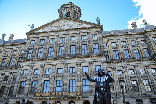 Amsterdam, Starwars, Darth Vader, Building