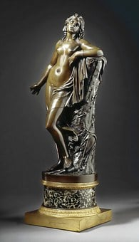 Sculpture, Cleopatra, Bronze, Ancient, Statue, Old