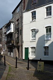 Plymouth, Devon, Architecture, Old, Buildings, Eclectic