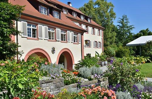 Mainau, Island, Lake Constance, Castle, Lake, Stairs