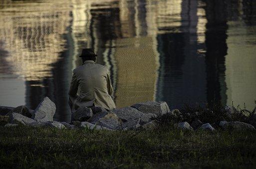 Old Man, Man, Philosopher, Japan, Reflection, Thinking