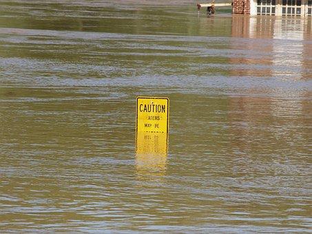 Flood, Tennessee, River, Damage, Danger, Rain, Nature