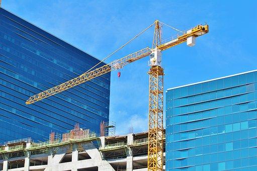 Baukran, Crane, Construction, House Construction