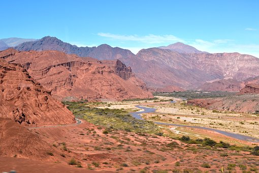 Landscape, Cordillera, Mountain Landscape