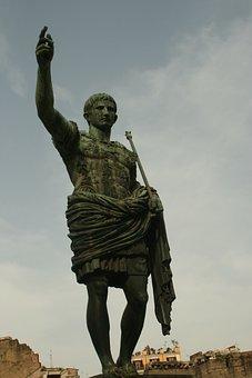 Gaius Iulius Caesar, Statue, Emperor, Monument, Roman