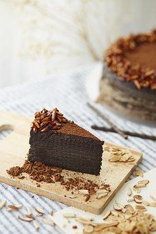 Cake, Gift, Dessert, Chocolate, Ghostsweets