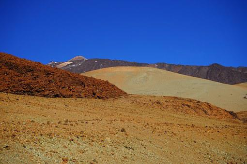 Lunar Landscape, Pumice Stone, Desert, Mountain