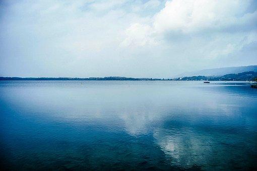 Reflection, Water, Ocean, Beach, Shore, Harbor, Harbour