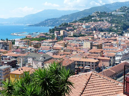 Ventimiglia, Coast, Ligurian Coast, Liguria, Sea