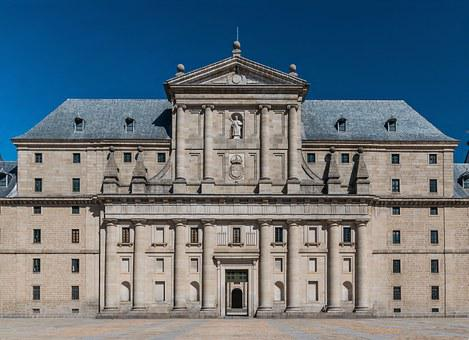 San Lorenzo De El Escorial, Spain, Building