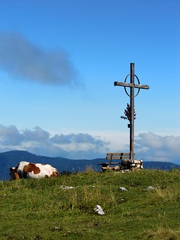 Summit, Cross, Summit Cross, Mountains, Alpine