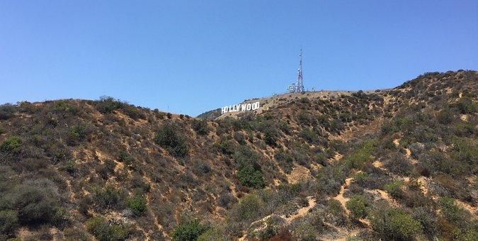 Hollywood Sign, La, Hollywood, California, Los, Angeles