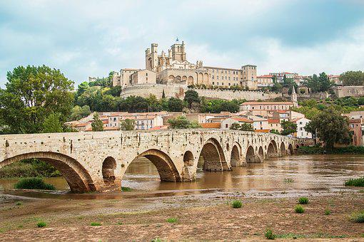 Fortification, Basilica, Béziers, France, Church