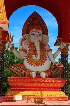 Elephant God, Ganesh, God, Elephant, Hindu, Culture