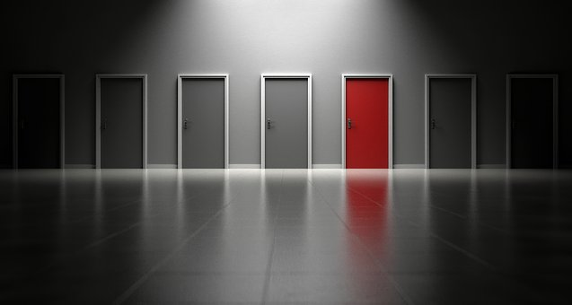 Doors, Choices, Choose, Decision, Opportunity, Entrance