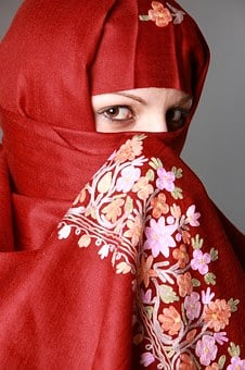 Muslima, Muslim Woman, Eyes, Fashion, Traditional