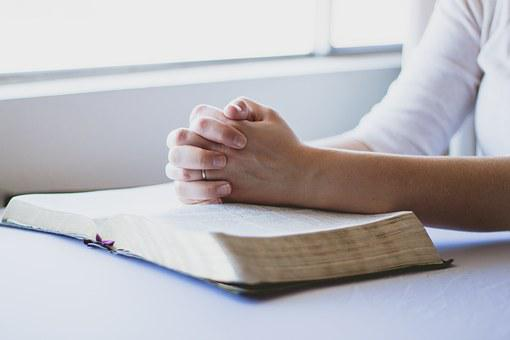 Prayer, Bible, Christian, Folded Hands, Religion, God