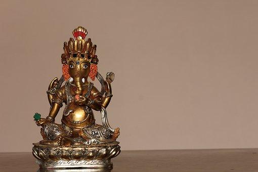 Ganesh, God, Idol, Hindu, Ganapati, Craftsmanship