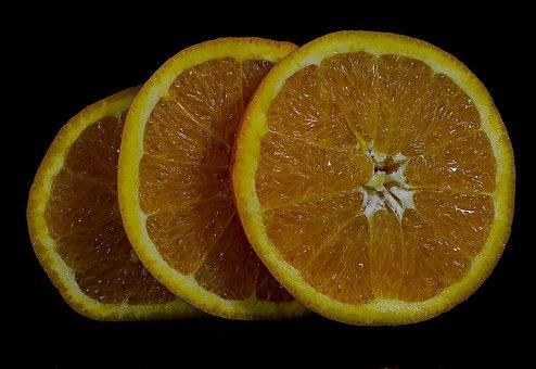 Fruit, Orange, Wheel, The Rays, Kiwi, The Richness Of