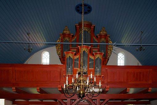 Church, Organ, Organ Whistle, Music, Church Organ