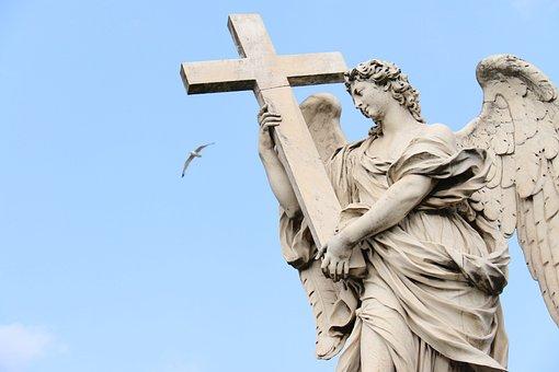 Rome, Statue, Sculpture, Architecture, Europe, Marble