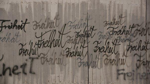 Freedom, Fence, Liberty, Wood, Plank, Art, Writing