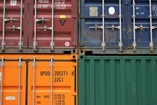 Colors, Colours, Container, Industry, Iron, Lock