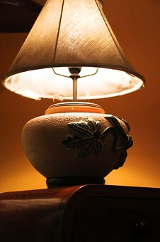 Light Fixtures, Jar, Classic, In The Evening, Red Light