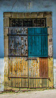 Door, Old, Traditional, House, Wooden, Aged, Rusty