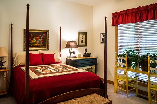 Bedroom, Guest Room, Sleep, Furniture, Four Poster, Bed