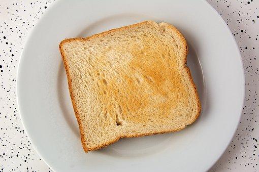 Toast, Eat, Breakfast, White Bread, Food, Bread