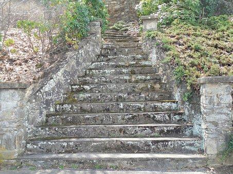 Masonry, Steps, Wall, Stone, Brick, Stairs, Old