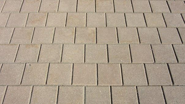 Patch, Brick, Concrete, Concrete Brick, Regularly, Rauh