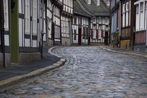 Cobblestone, Goslar, Unesco, Heritage, Ancient