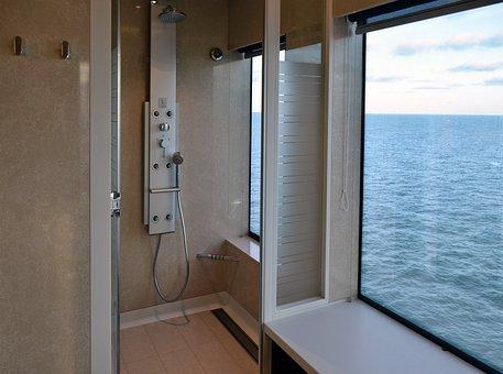 Wellness, Shower, Cruise Ship, Cruise, Outlook, Tourism