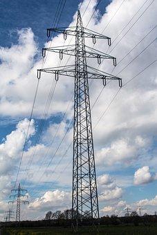 Energy, Current, Power Line, Elektrik, Power Lines