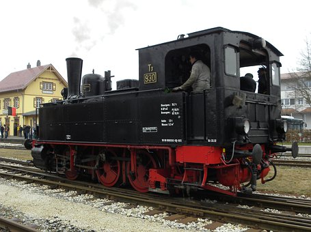 Blackjack, Locomotive, Train, T3 930, Railway
