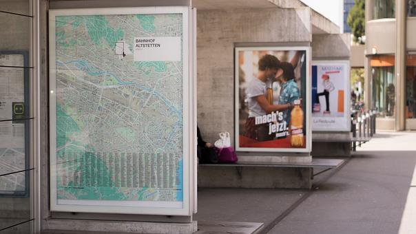 Advertisement, Billboard, Outside, Poster