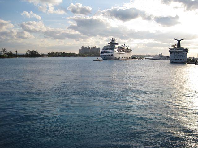 Cruise Ships, Port, Dock, Cruising, Florida, Travel