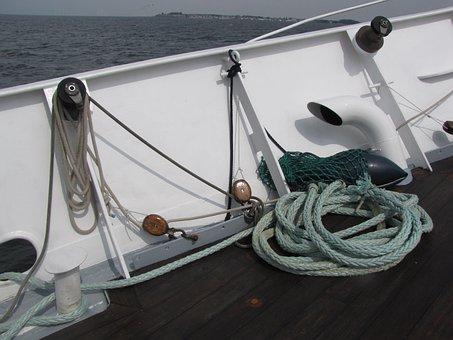 Sailing Boat, Offing, Ijsselmeer, Wind, Wind And Water