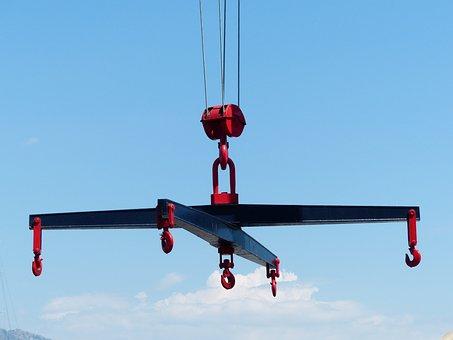 Cross Traverse, Crane, Load Lifter, Hook, Weight