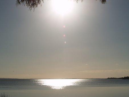 Evening Sun, Lakeside, Shore