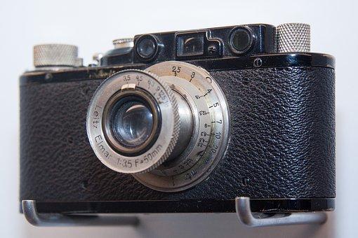 Camera, Photo, Film, Photograph, Leica Ii, 1932, Leitz