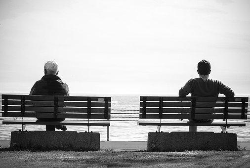 Bench, Resting, Sitting, Wait, Waiting