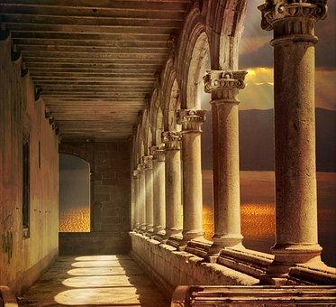 Arcade, Architecture, Building, Columnar, Historically
